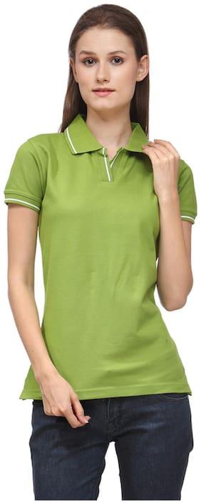 Switz Inc Women Sports T-Shirt - Green