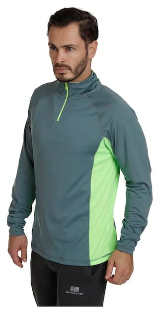 33e702a75be Buy T10 Sports Men Cotton Blend Track Suit - Green Online at Low ...
