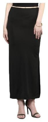 TAARUUSH Printed A-line skirt Maxi Skirt - Black