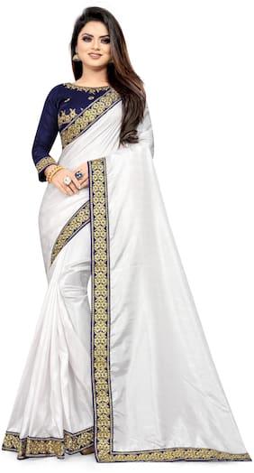 Artificial Silk Assam Silk Saree