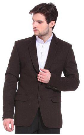 TAG 7 Brown Wool Blazer