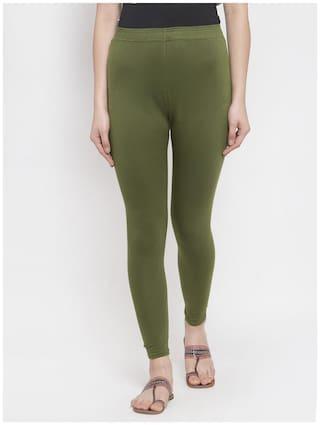 Tag 7 Women Full Length Solid Leggings