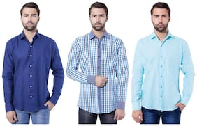 Tag & Trend Men Slim Fit Casual shirt - Multi