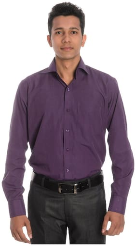 Tag & Trend Mexican Pink Slim Fit Formal Shirt