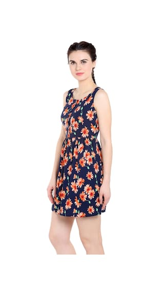 Dress Regular women fabric Fit Straight TARAMA Polyester for CPqSzww