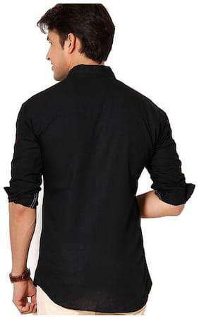 Tarkshyam Trendz casual black Shirts for men
