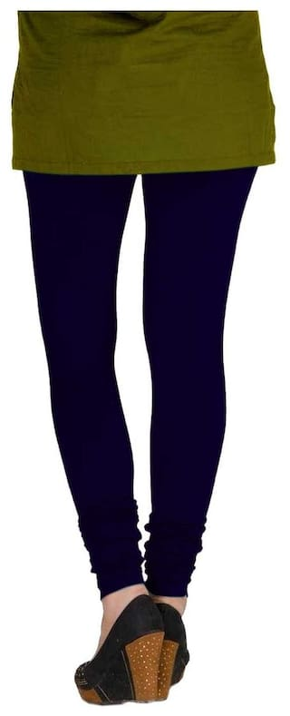 Yellow amp; of Lycra Cotton Pack TBZ Blue Women's XL Leggings Two Navy xz0a5wYqp
