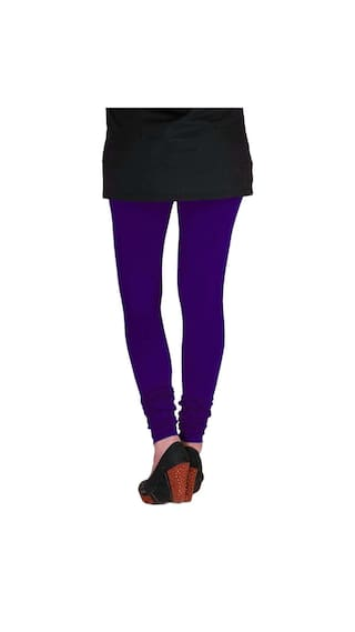 Purple amp; Cotton Magenta Women's Three of Navy amp; Blue TBZ Leggings Lycra XL Pack RAxUwqBzC