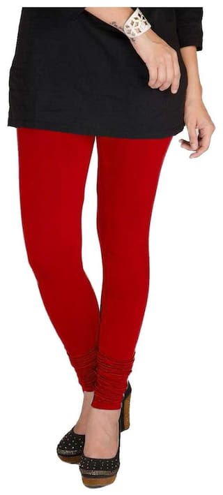 Leggings Pack Two amp; Voilet of TBZ XXL Red Cotton Lycra Women's qwxT01t