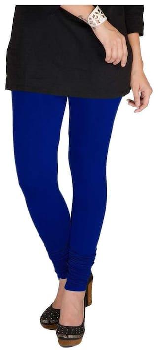 Cotton Lycra Royal TBZ White XL of Blue Women's Pack Two Leggings amp; HOqnwB