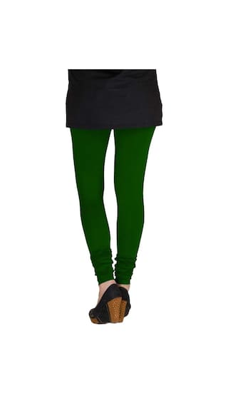 of Dark TBZ Women's Purple Three Black Green amp; Lycra Cotton Leggings amp; XXL Pack Pqwa6HP