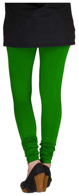 Green Black amp; Women's Cotton Three amp; Lycra TBZ of Pack Leggings White Large IwH8qXnRx