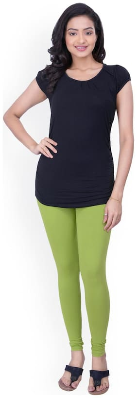 TCG Cotton Leggings - Green