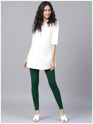 TCG Cotton Leggings - Green