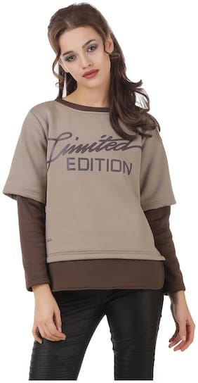 Women Printed Sweatshirt