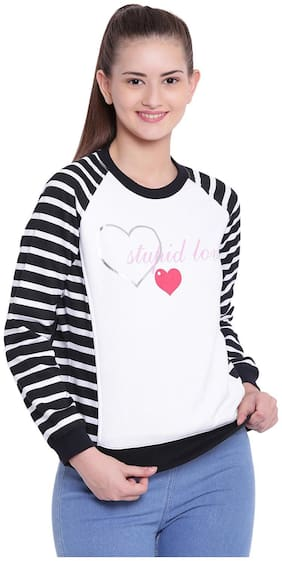 Women Striped Sweatshirt ,Pack Of 1