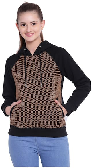 Texco Women Solid Sweatshirt - Multi