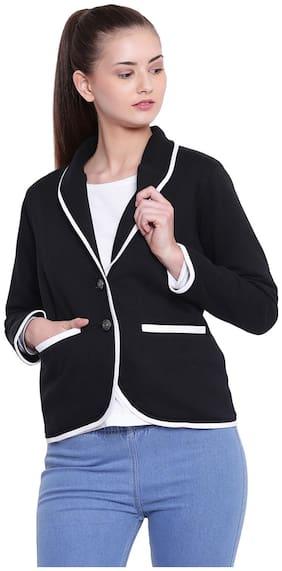 Women Fleece Regular FIt Blazer ,Pack Of 1