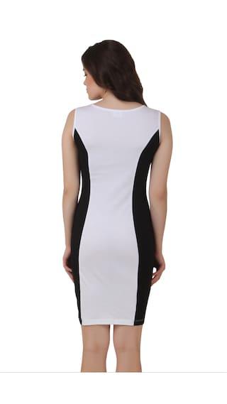 White Dress Black Bodycon amp; Texco 0YUqxwf