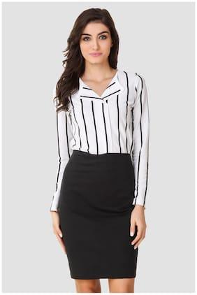 Women Striped Dress ,Pack Of 1