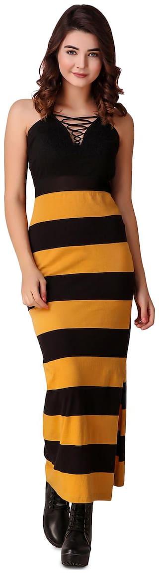 Texco Multi Striped Maxi dress