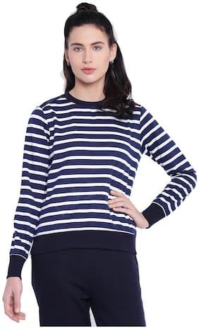 Women Striped Sweatshirt