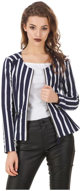 Women Striped Jacket
