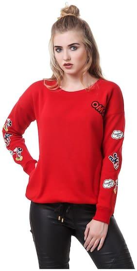 Women Floral Sweater