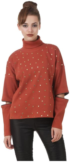 Women Embroidered Sweatshirt