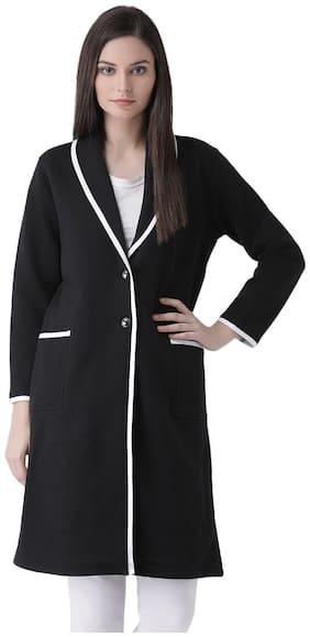 Women Fleece Regular FIt Coat ,Pack Of 1