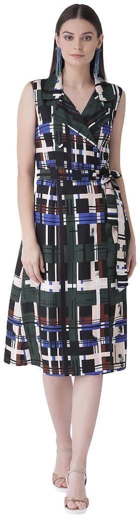 Women Checked Dress