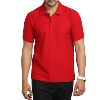 0d069a02 Buy The Chambal Solid Men's Polo T-Shirt Online at Low Prices in ...