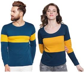 Women Full Sleeves T Shirt ,Pack Of 2