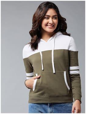 Women Color-Blocked Sweatshirt