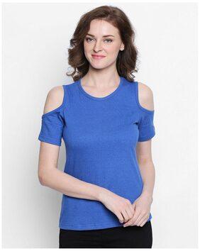 THE DRY STATE Geometric Blue T Shirt