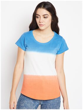 THE DRY STATE Colorblocked Multi T Shirt