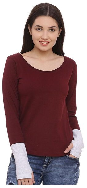 The Dry State Thumbhole Round Neck T-shirt
