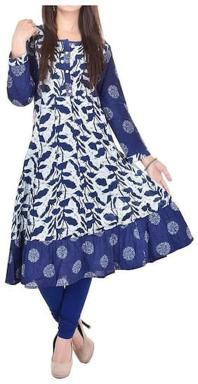 Women Printed Anarkali Kurta