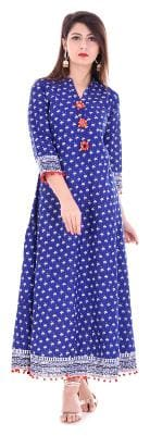 The Style Story Printed Women's Gown Kurta