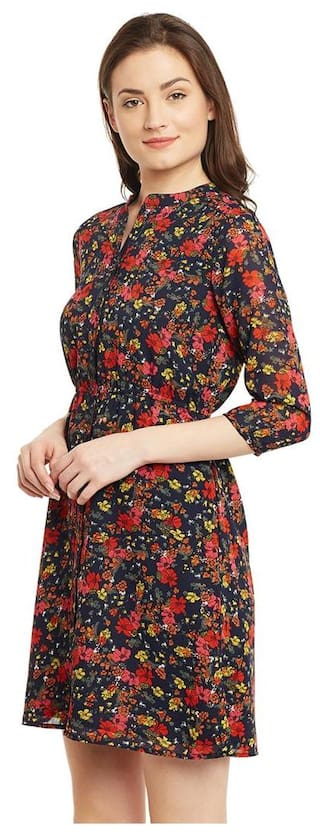 Shirt Vanca Dress Vanca Printed The The Multicoloured nvEaxWXqW