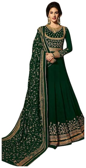 The Woman Taxfeb Semi-Stiched Long Length Anarkali Suits
