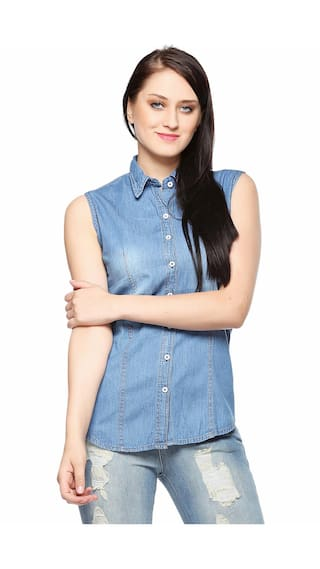 Theory Fasnoya Denim Shirt Women's by Pxg5qYPrKw