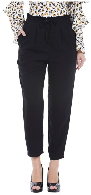 Tie-Up Peg Trousers