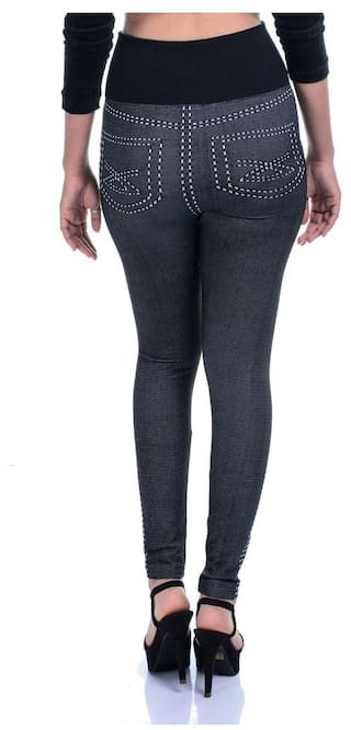 Skinny High Of Timbre Pack Combo Waist Denim Printed Fit Lycra Jeggings 2 Strachable 4dqqfw6