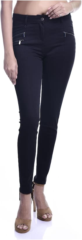 Timbre Women Purple Skinny fit Jegging