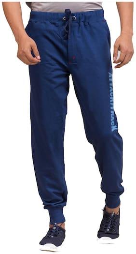 Todd N Teen Men Blue Solid Regular fit Joggers