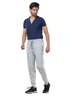 Todd N Teen Men Grey Solid Regular fit Joggers