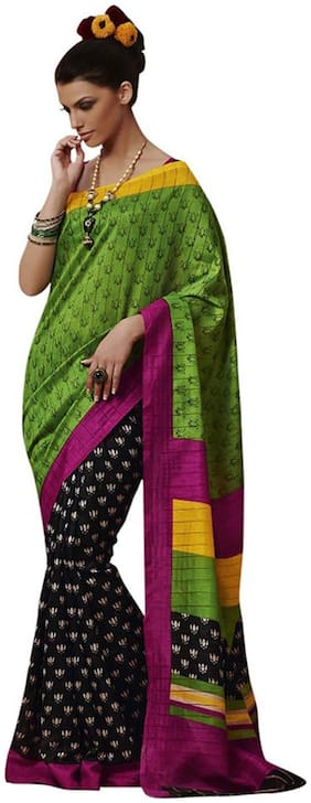 Touch Trend Multi Color Printed Saree