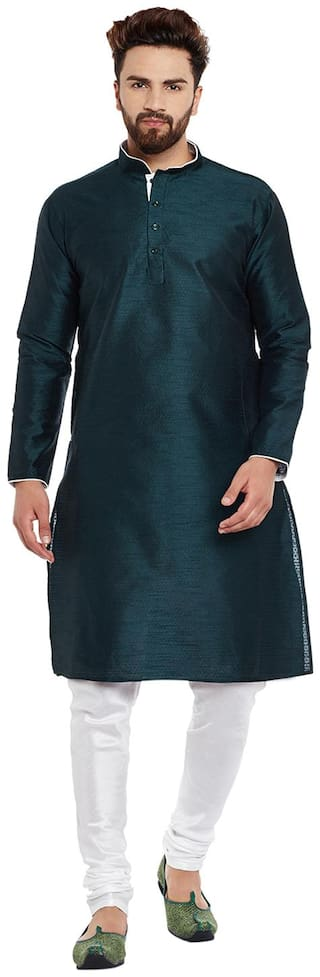 TRADITIONAL MENS SILK KURTA PYJAMA SPECIAL FOR ETHNIC PARTY