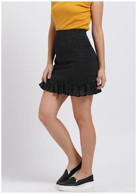 Women Polka Dots Skirt